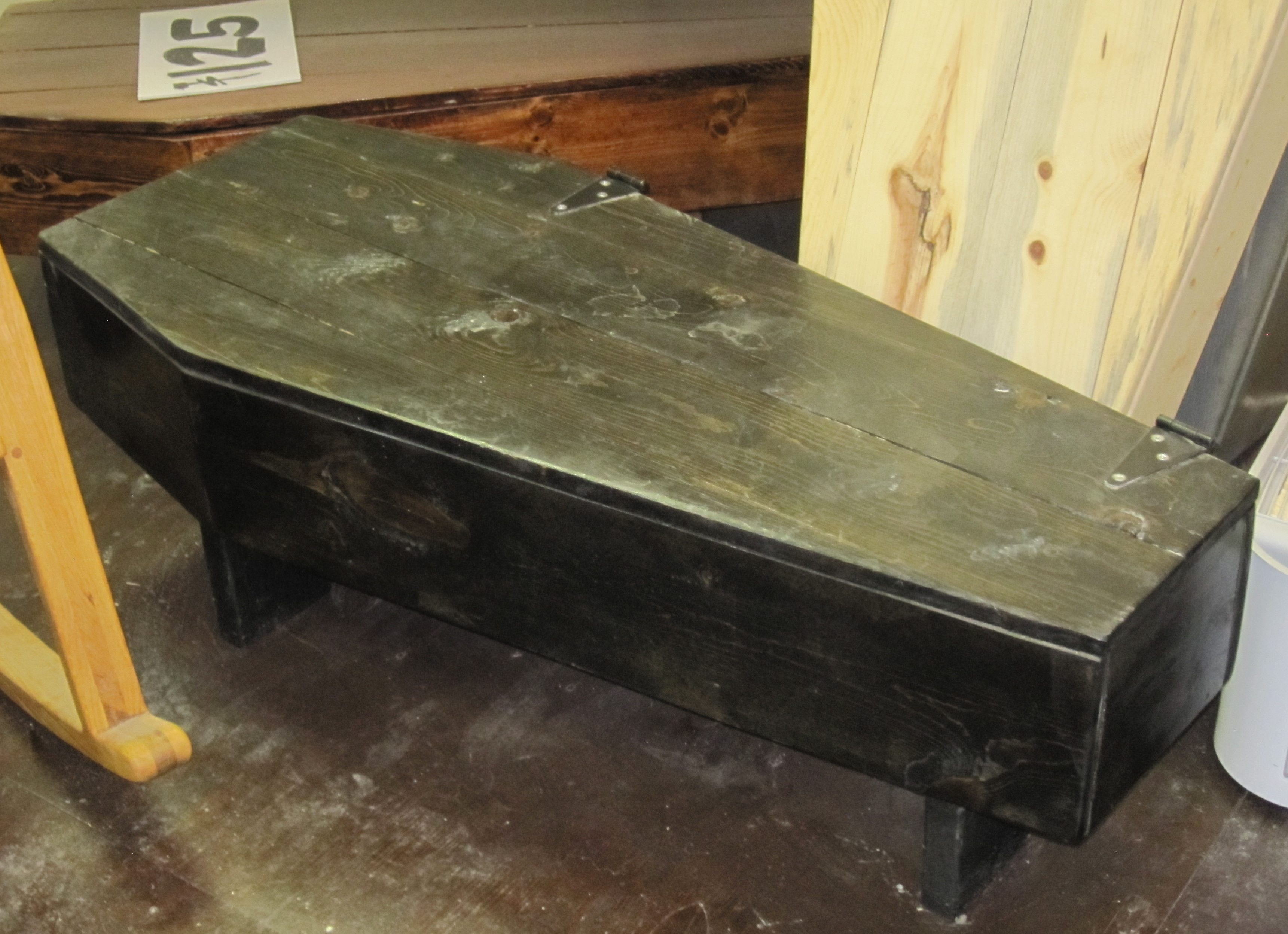 Coffin Coffee Table Rascalartsnyc